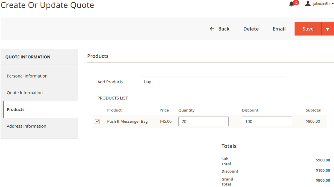 webkul_Magento2 CRM_quote_product
