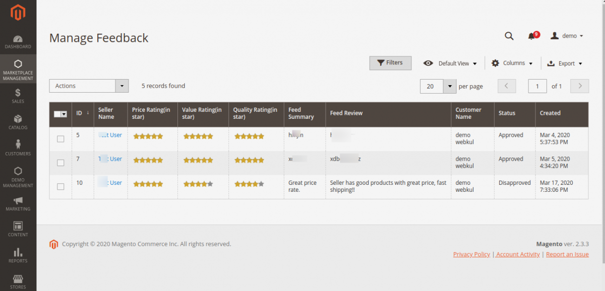 webkul-magento2-marketplace-review-reminder-seller-review-profile-approval-11