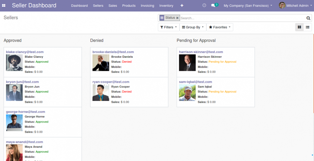 Manage Marketplace Sellers