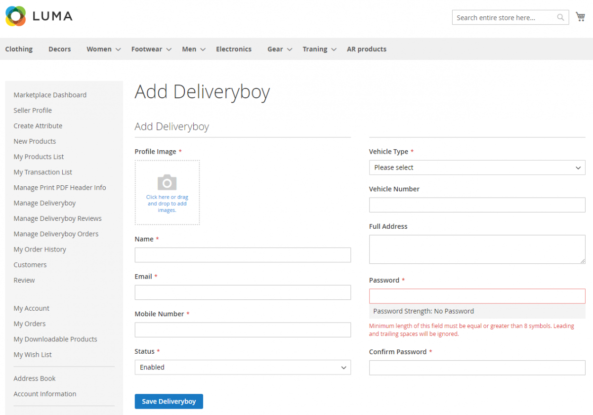 magento2-marketplace-seller-delivery-boy-add