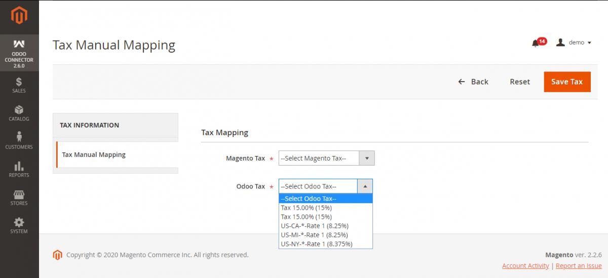 Manual Tax Mapping