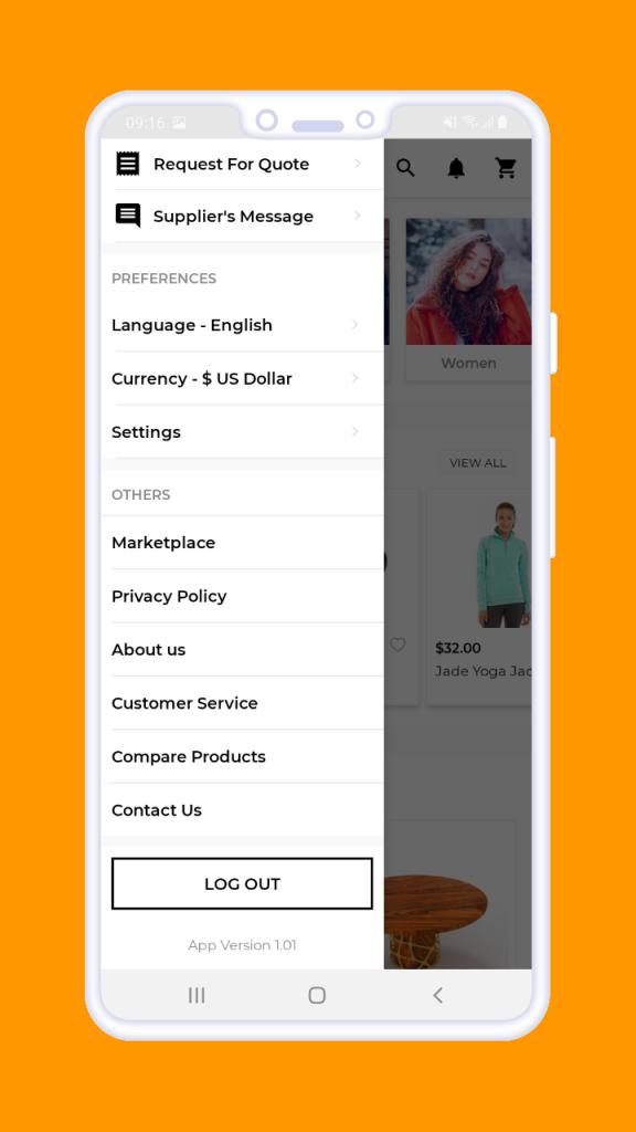 webkul_magento2_b2b_mobile_app_login_customer_prefernces