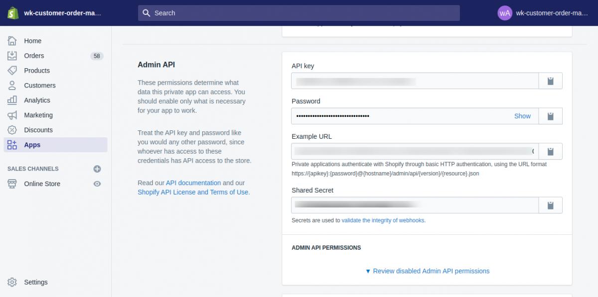 Admin API