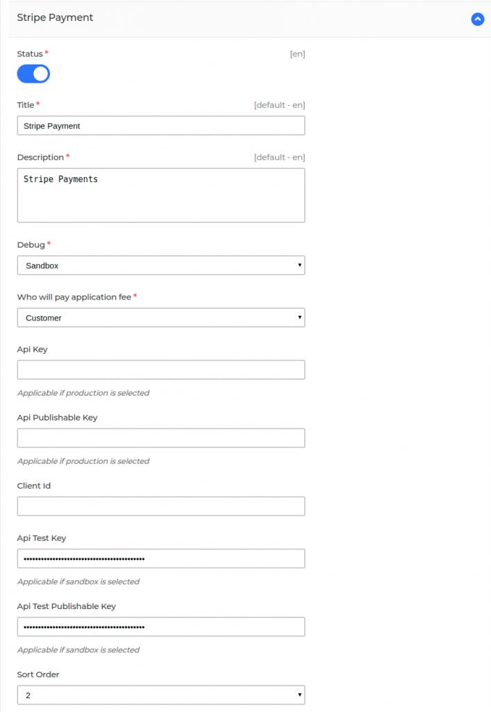 Stripe-Payment-Configuration