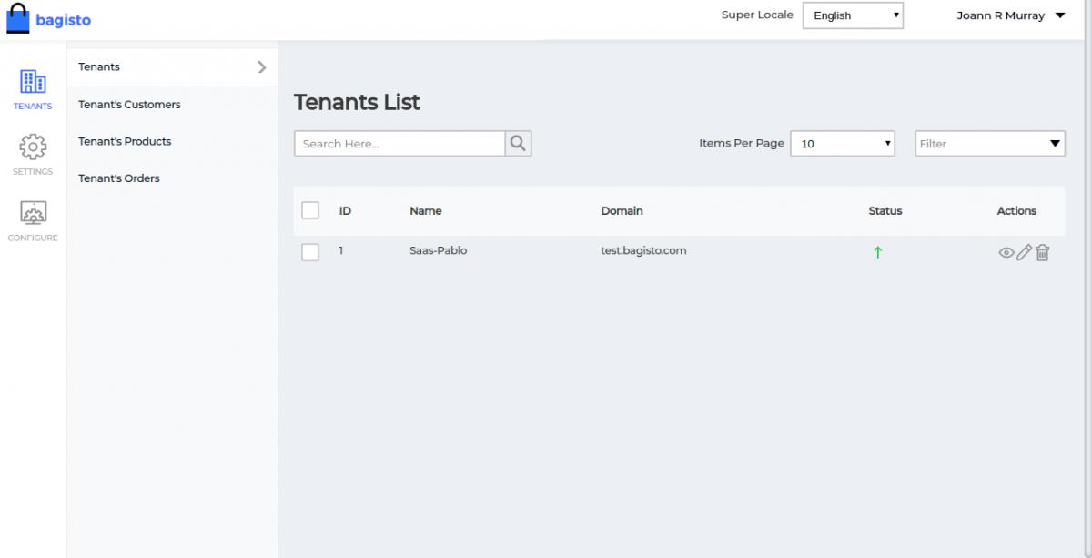 WEbkul-Laravel-eCommerce-Multi-Tenant-SaaS-Super-Admin-Tenant-List