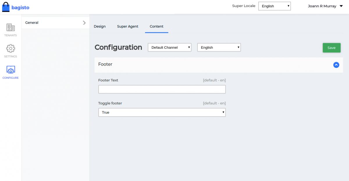 Webkul-Laravel-eCommerce-Mulit-Tenant-SaaS-super-admin-adding-footer-content