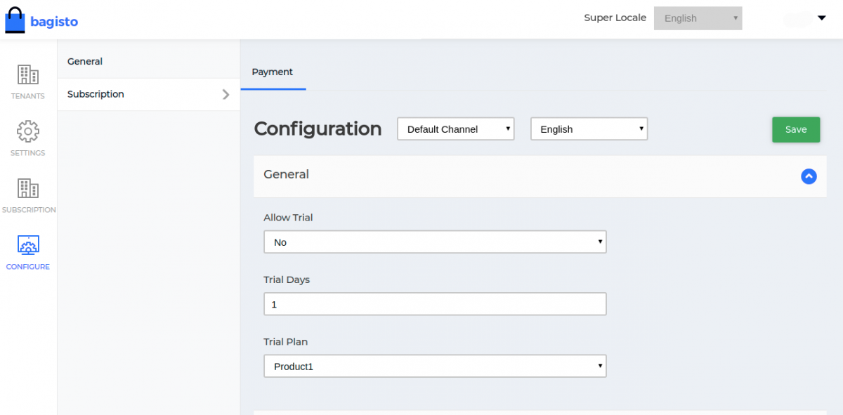 Webkul-bagisto-laravel-ecommerce-saas-subscritpion-configuration