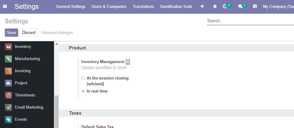 POS Inventory Management