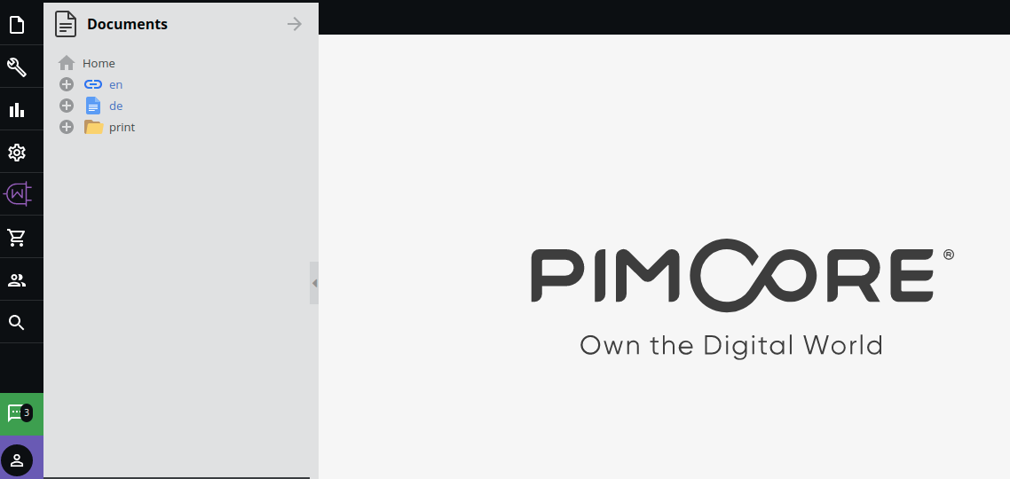Pimcore WooCommerce Connector installed