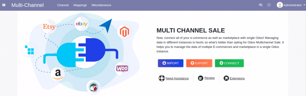 Connect Odoo to Wocommerce