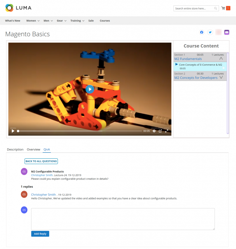 Marketplace-LMS-reply-added
