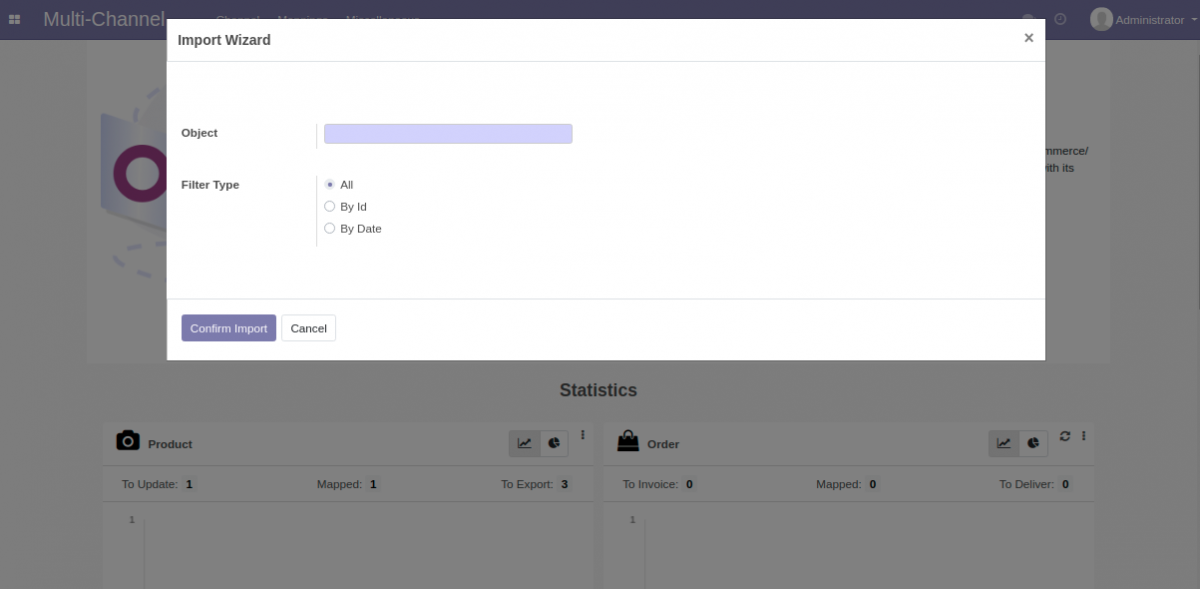 Import data from Shopware to Odoo