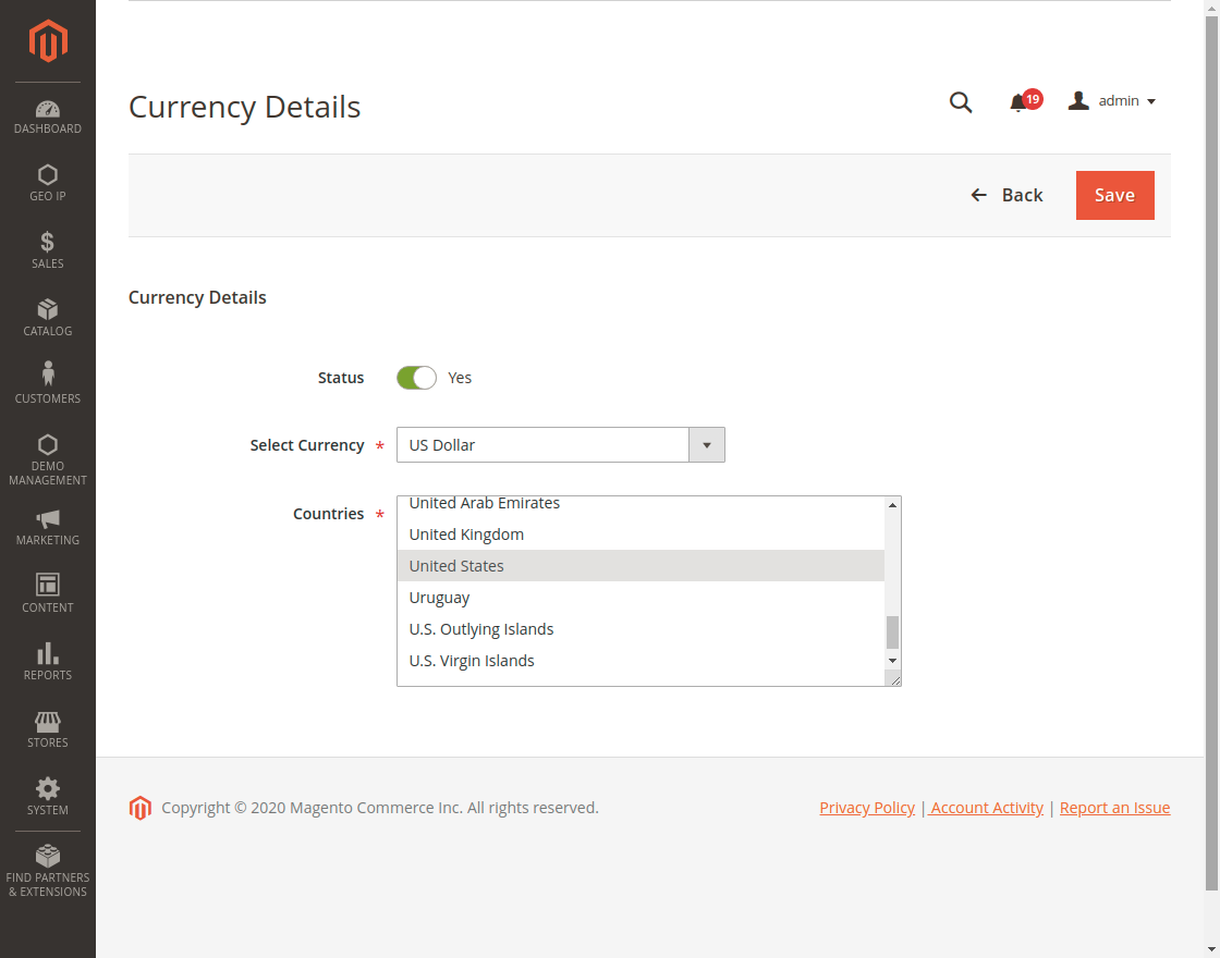 webkul-magento2-geoip-mangement-Currency_Details