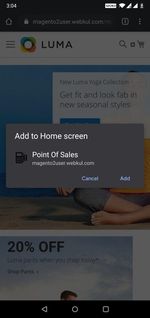PWA Magento 2 NFC_Pop_up_add_to_homescreen
