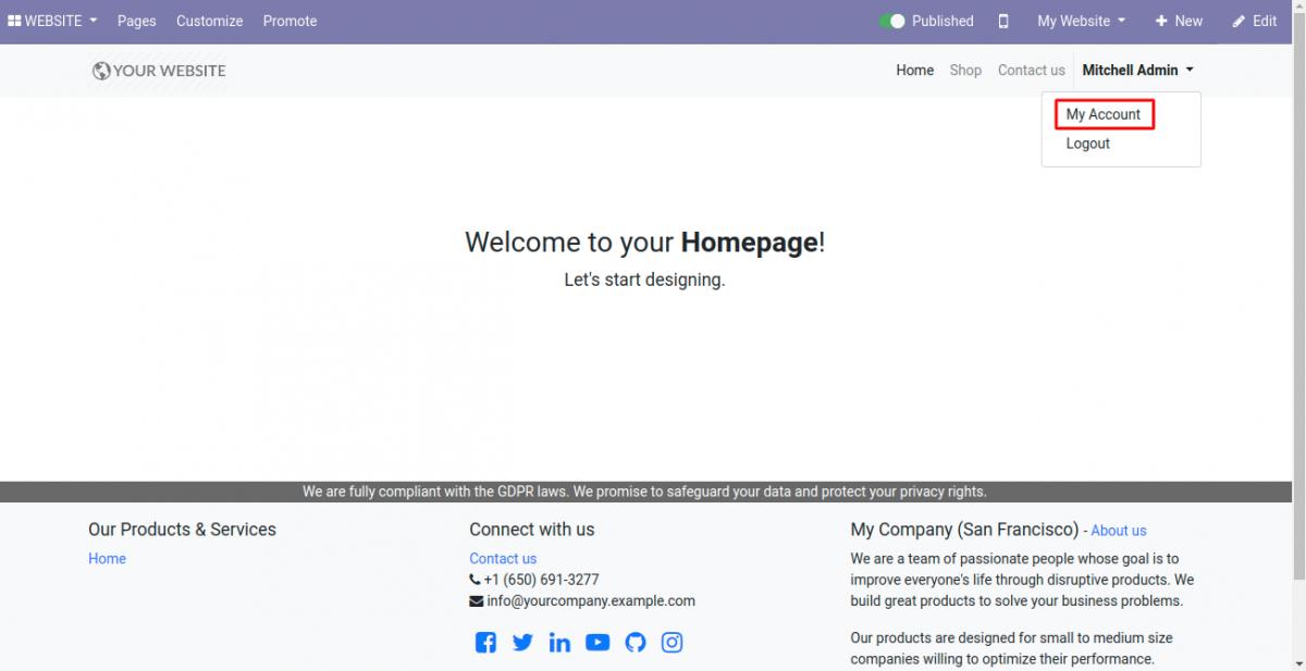 homepagemy-account