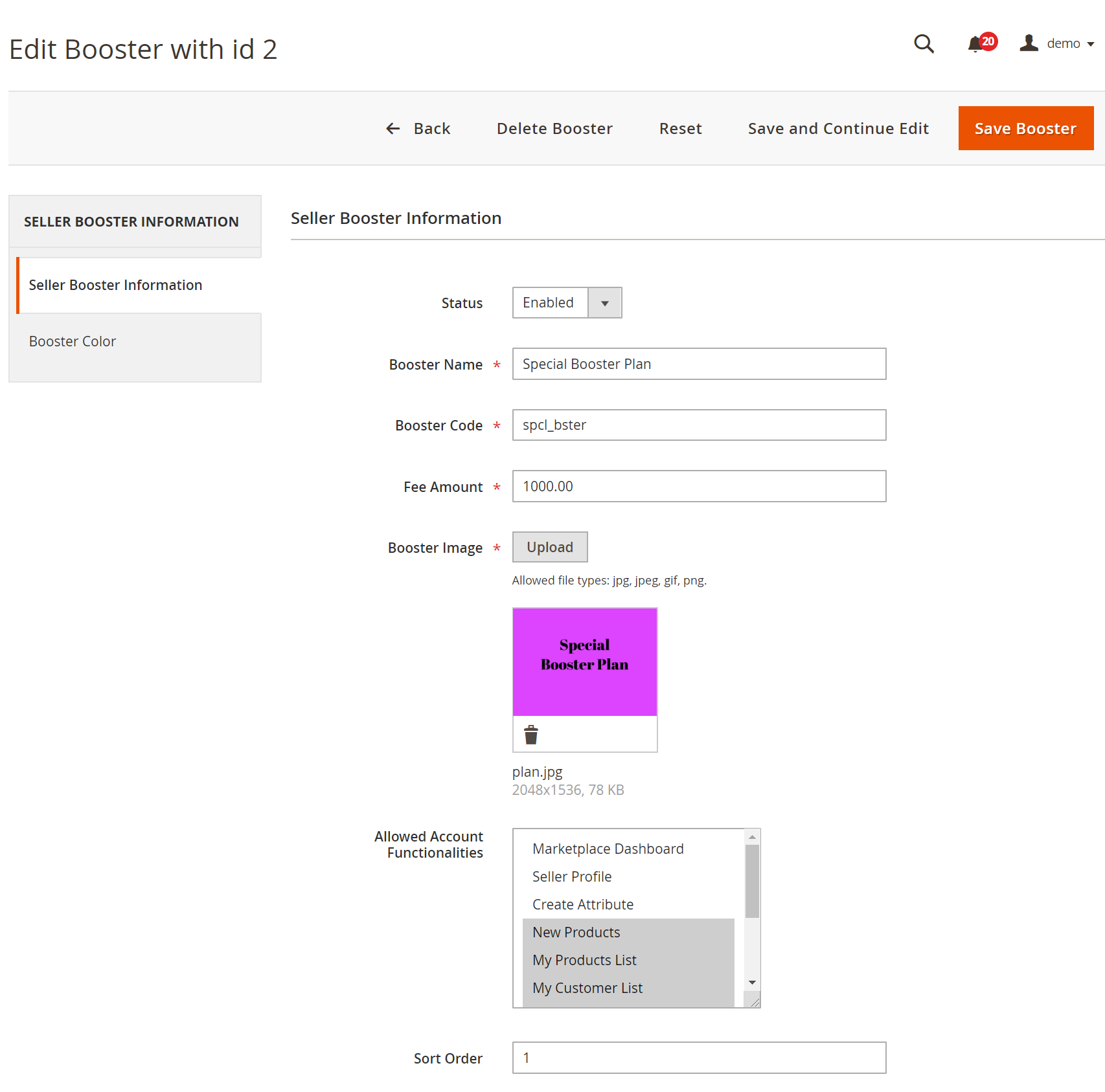 Marketplace Seller Groups for Magento 2_managebooster