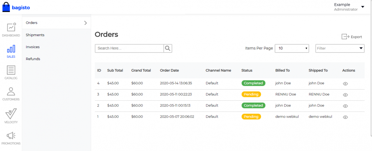 laravel table rate shipping