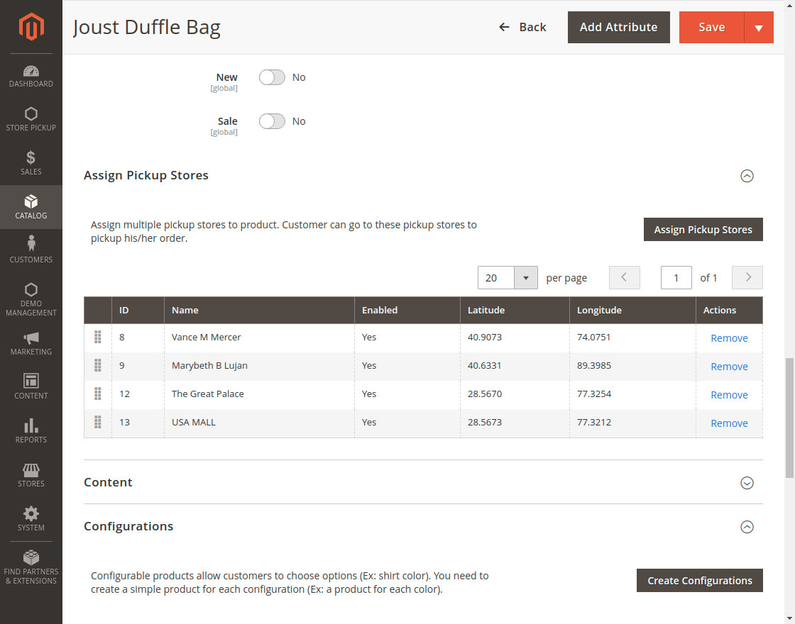 Magento 2 Store Pickup - PRODUCT_PAGE