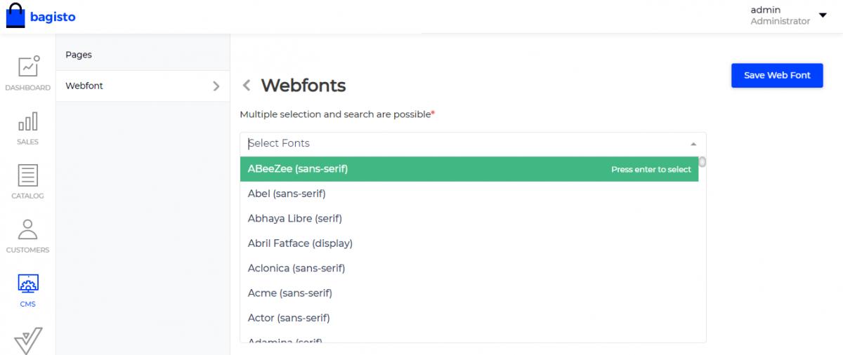 Select-web-fonts