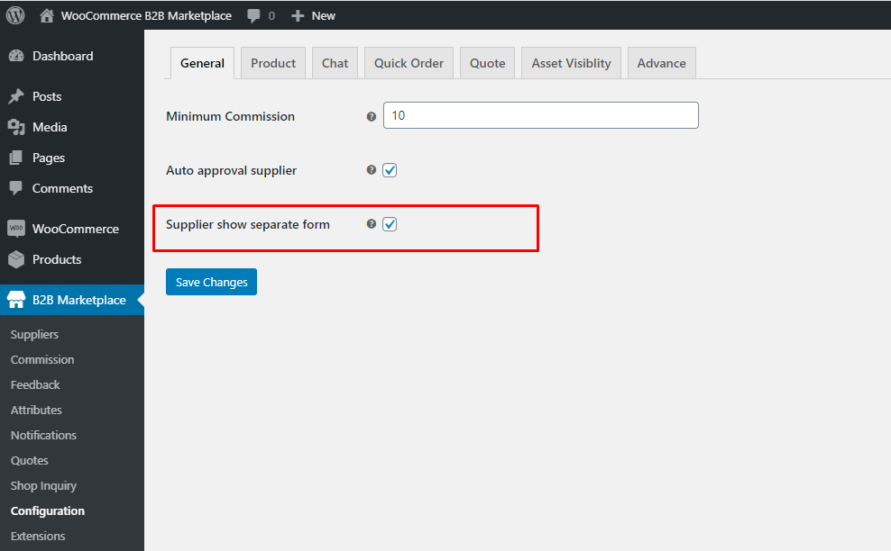 Webkul-B2B-Marketplace-Admin-Separate-Supplier