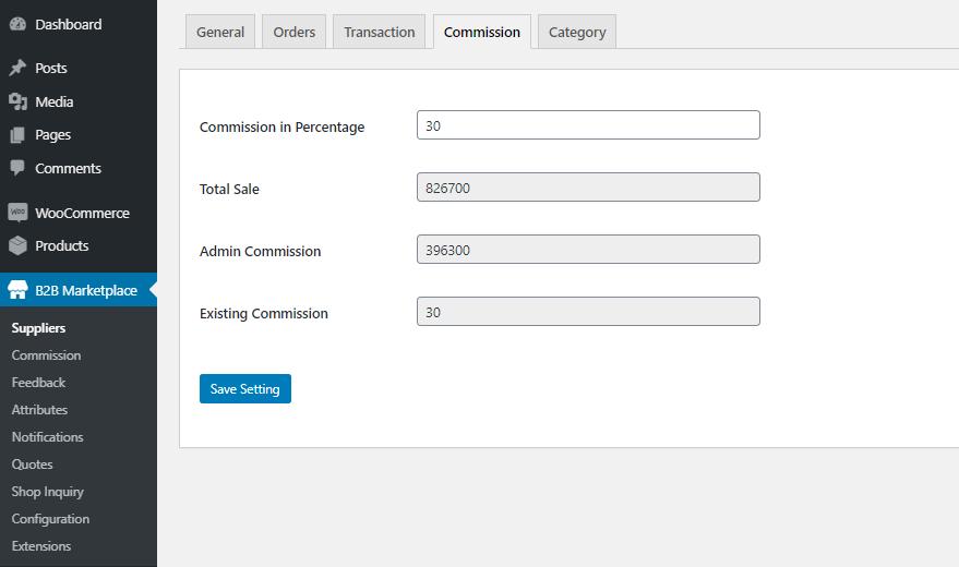 Webkul-WooCommerce-B2B-Marketplace-Commission