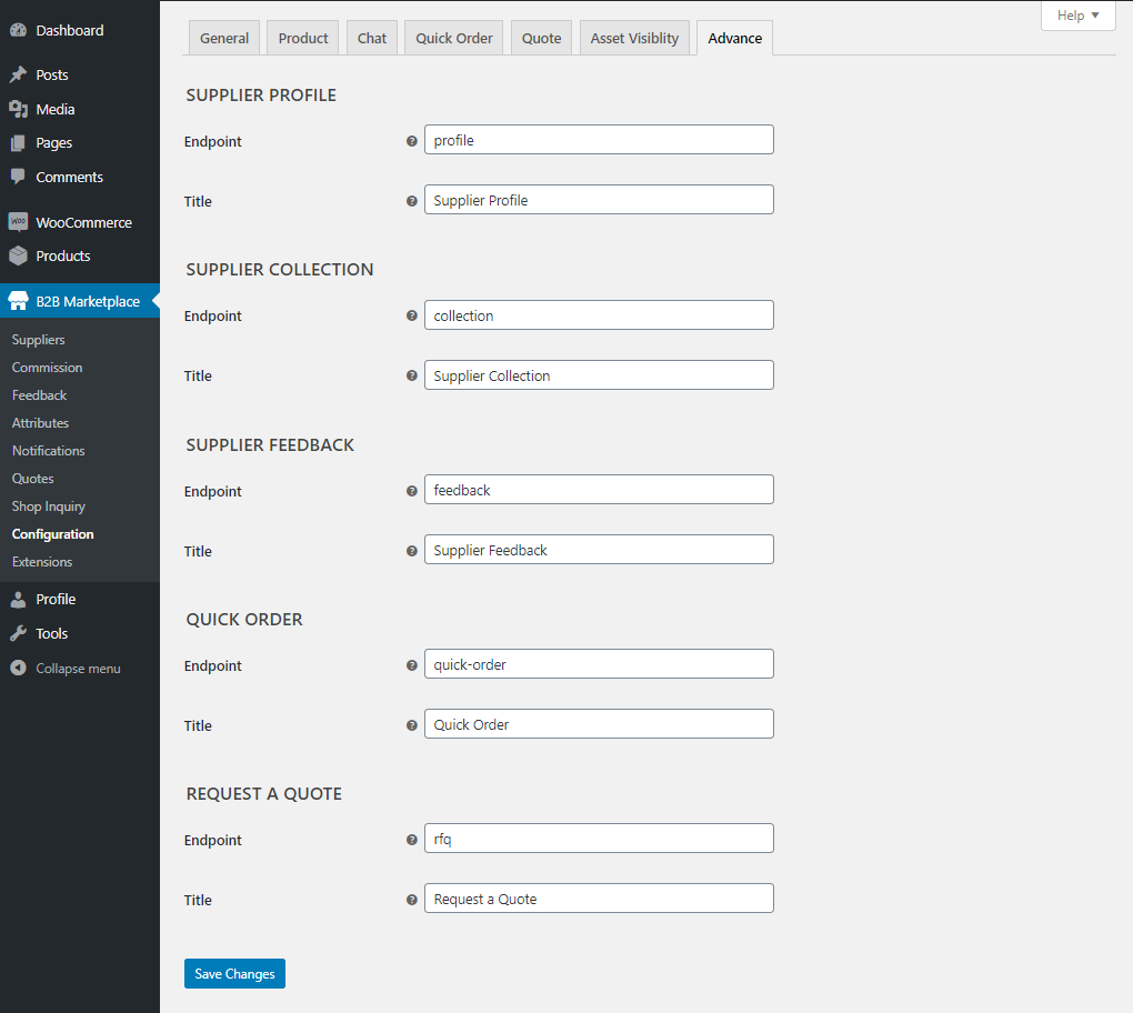 Webkul-WooCommerce-B2B-Marketplace-Configuration-Advance
