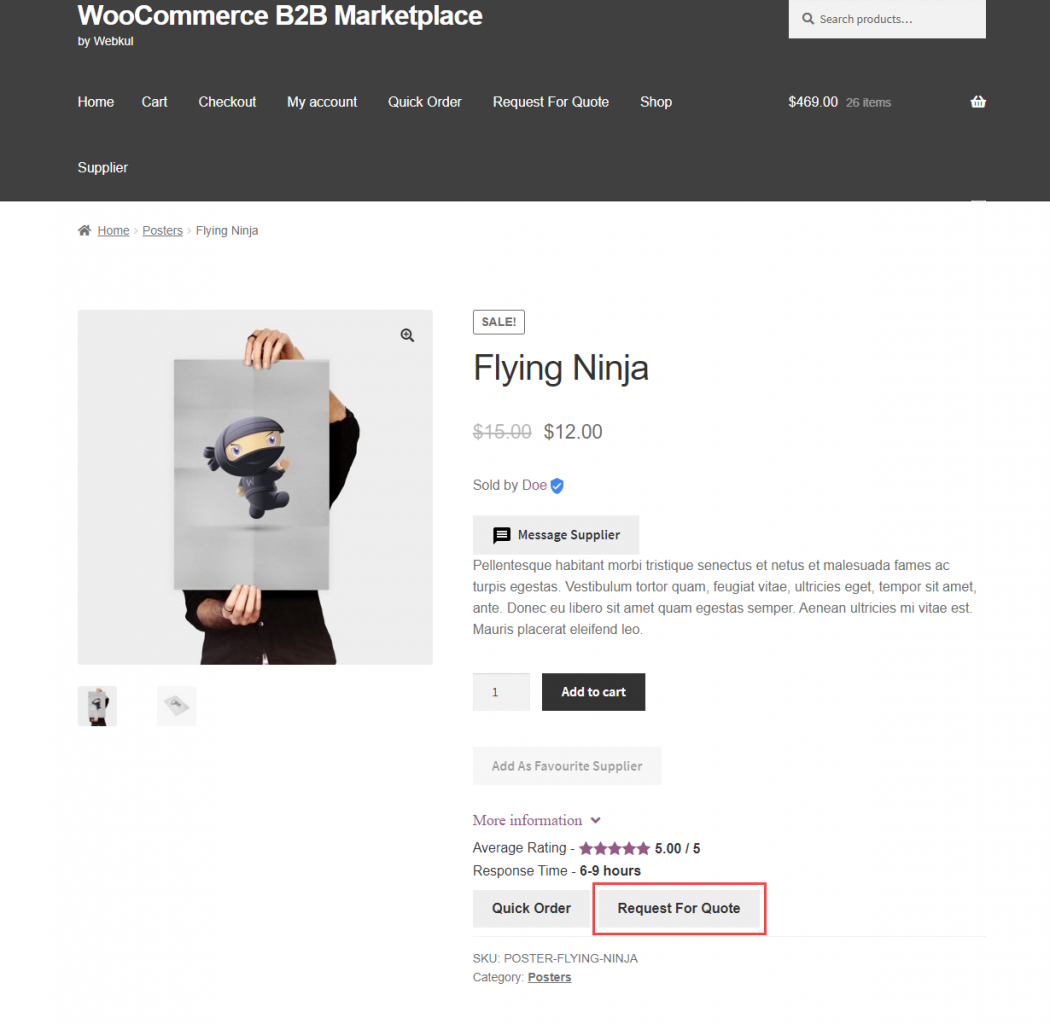 Webkul-WooCommerce-B2B-Marketplace-RFQ