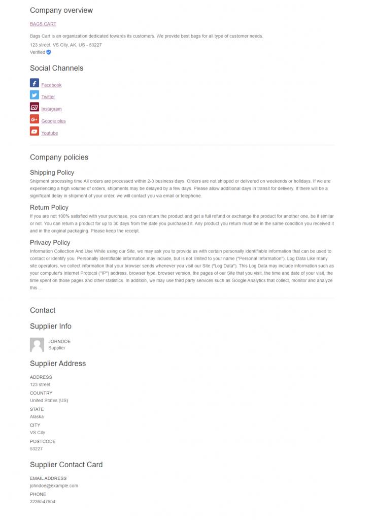 Webkul-WooCommerce-B2B-Marketplace-Supplier-Profile