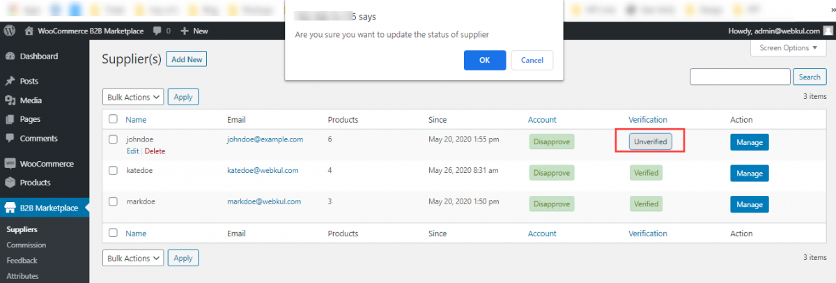 Webkul-WooCommerce-B2B-Marketplace-Supplier-verification
