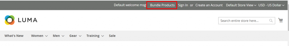 Magento 2 Bundle Product Discount_bundle-products_customer-End