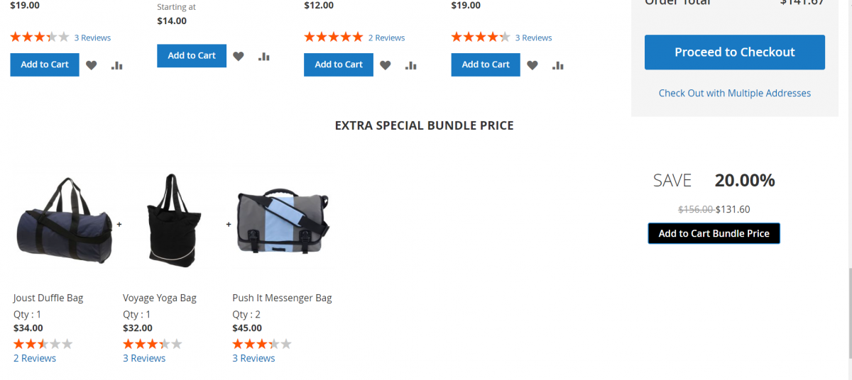 Magento 2 Bundle Product Discount_cart_promotion_product-2