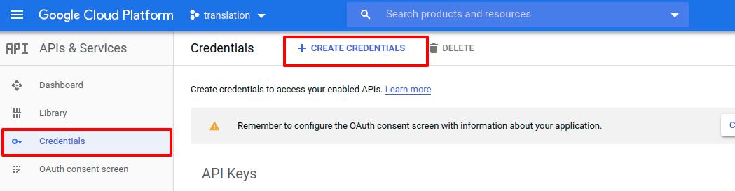 create-credentials
