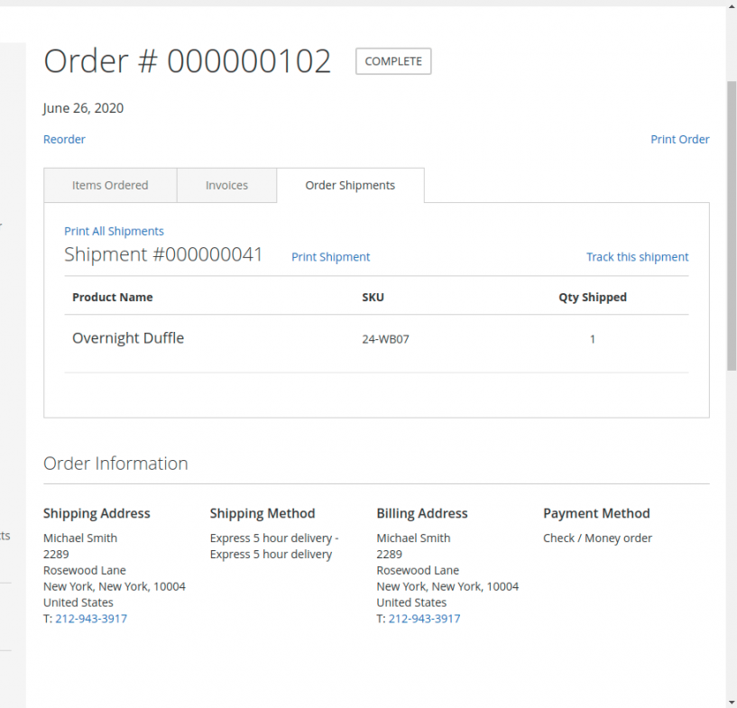 Marketplace Delivery Boy - Web Order_Shipment