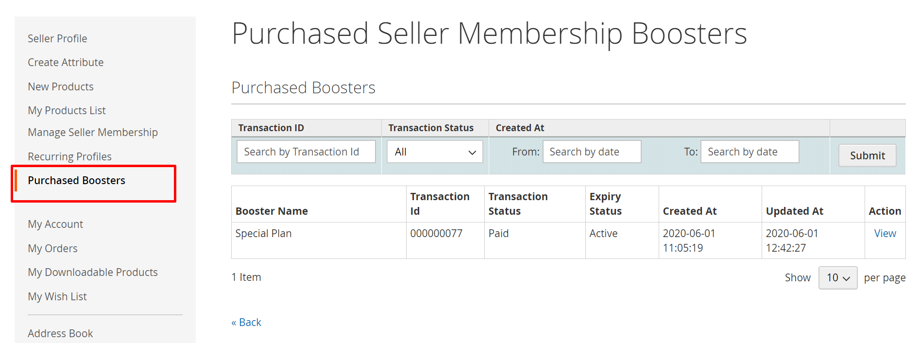 Marketplace Seller Groups for Magento2-purchased-boosters