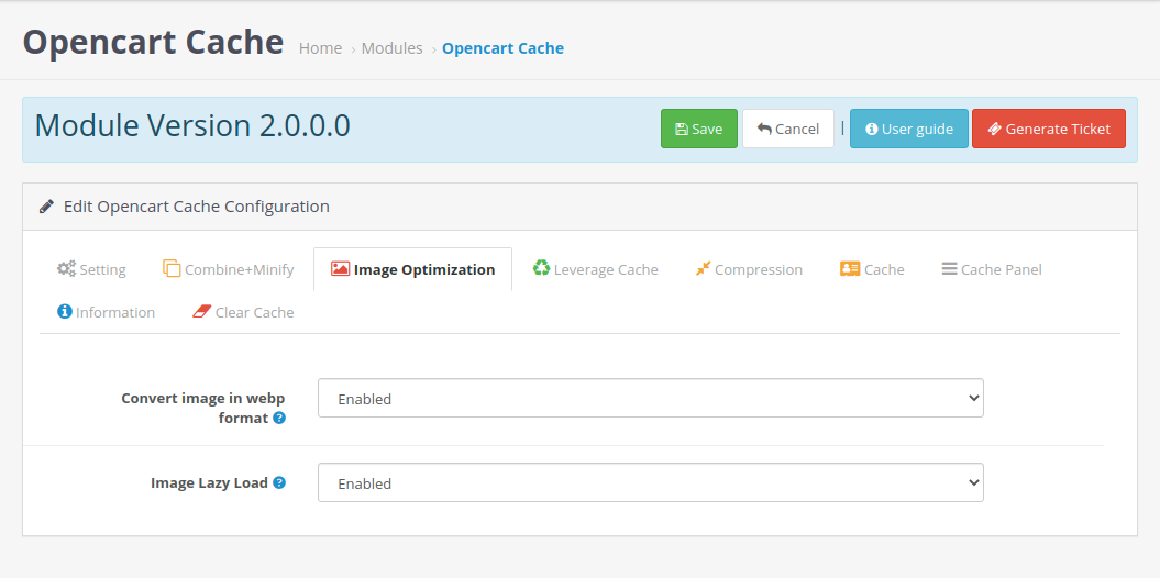 Opencart-Cache-image-optimization