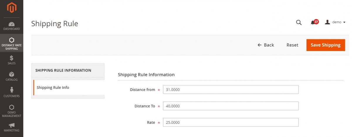 Shipping_Rule_Magento_Admin
