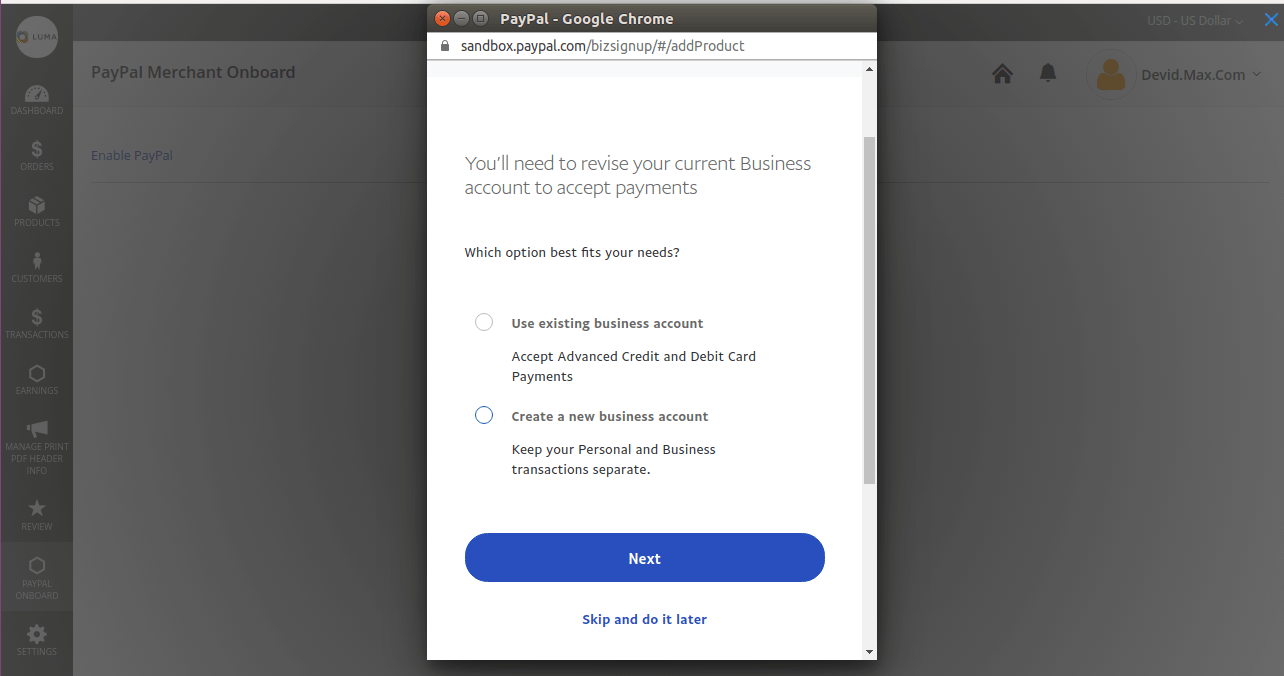 business_account