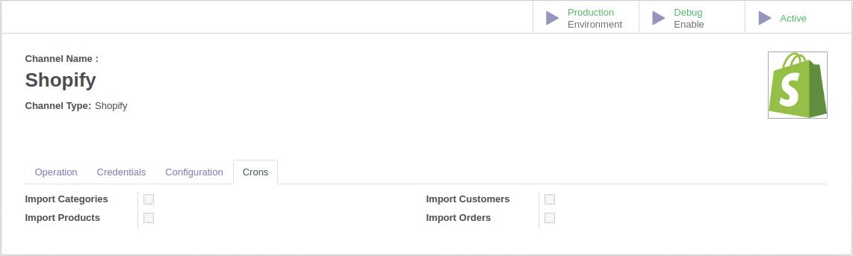 Odoo via Cron scheduler in Odoo