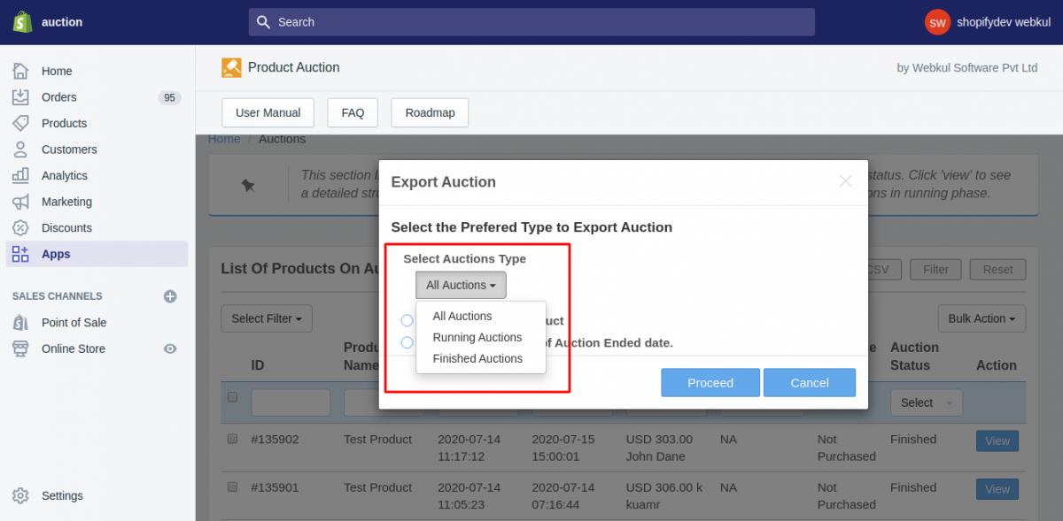 auction type