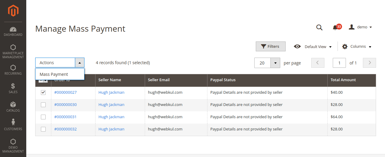 webkul-magento2-multi-vendor-recurring-payments-admin-end-select-seller-for-mass-payment