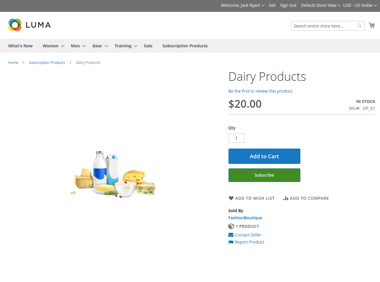 webkul-magento2-multi-vendor-recurring-payments-product-page
