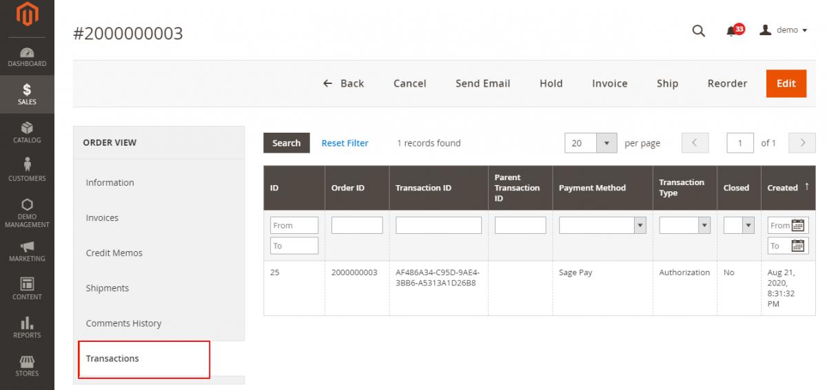 webkul-magento2-sage-pay-paymnet-gateway-admin-transaction-generated