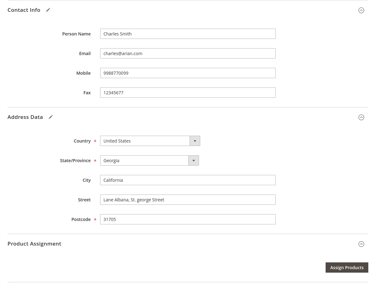 webkul-magento2-store-pickup-admin-end-add-new-store-configuration-sections