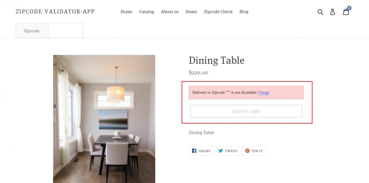 Dining-Table-–-Zipcode-Validator-App-1