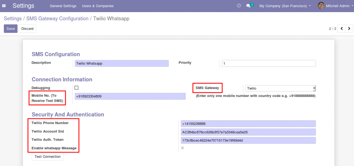 integrate Whatsapp With Odoo 2