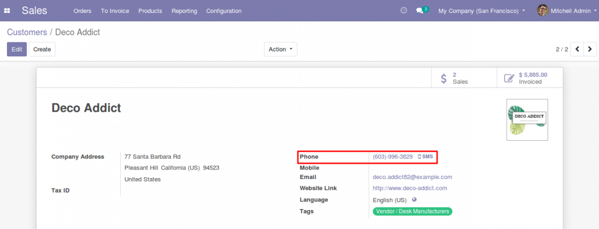 Send Whatsapp messages With Odoo 1