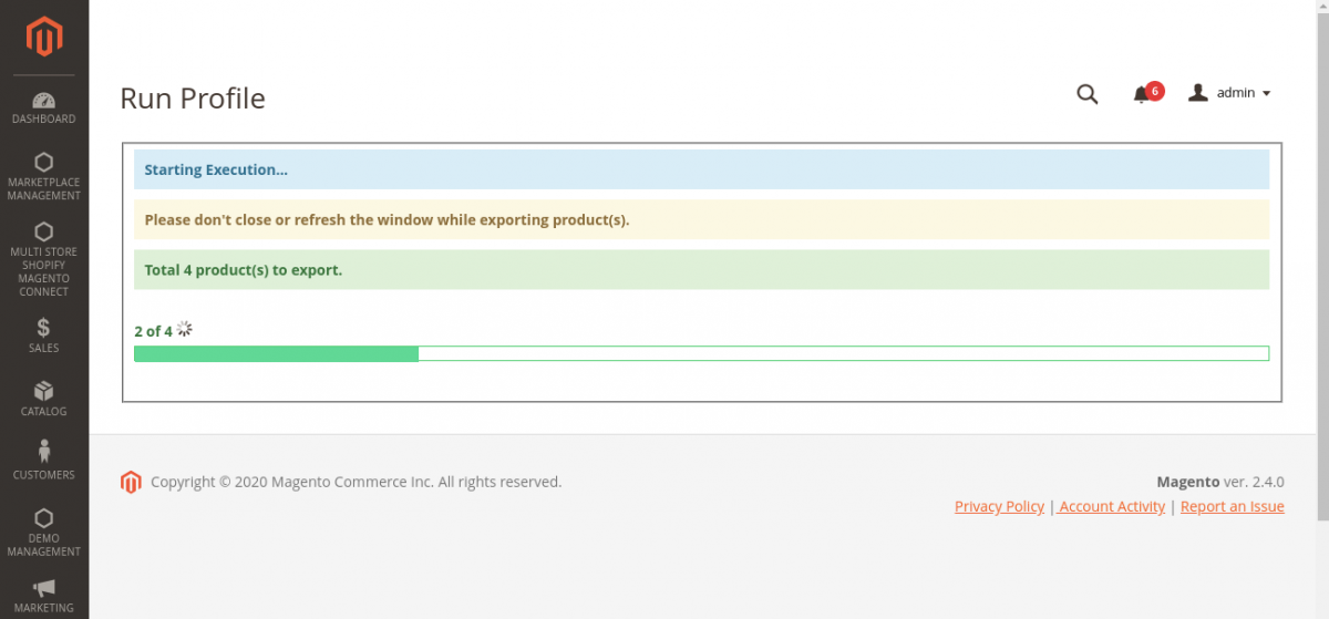 export-magento-products-running-profiler