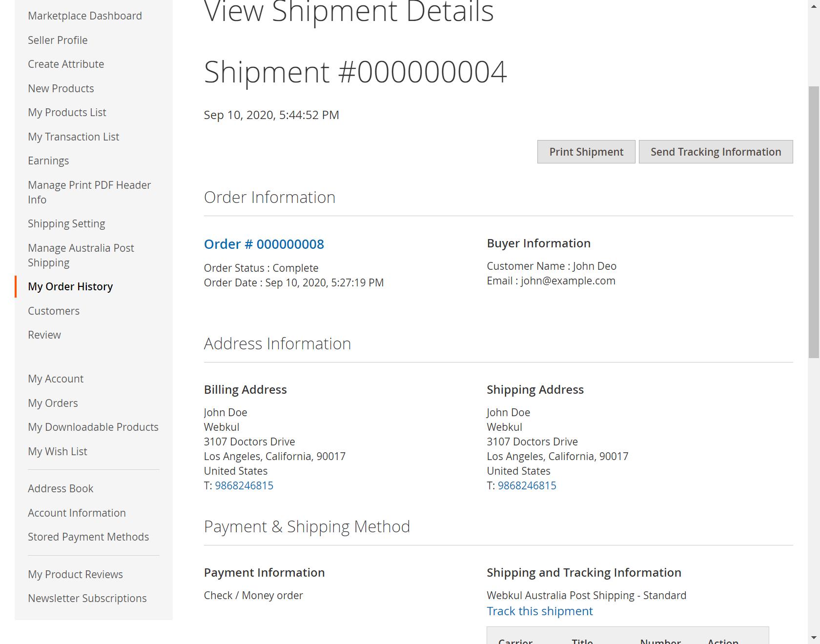 Australian Post Shipping_order_shipment_view_order_id_8_shipment_id_4_office_store-1