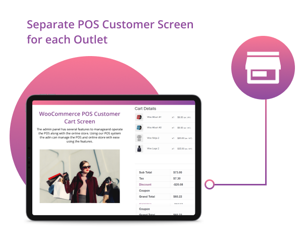 WooCommerce POS Customer Cart Screen - 5