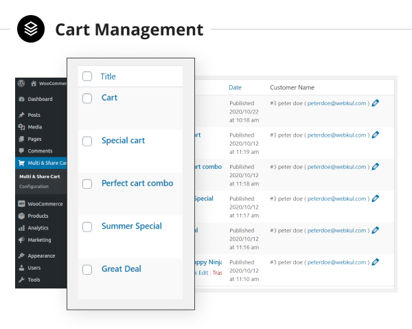 WooCommerce Save and Share Cart Plugin - 8